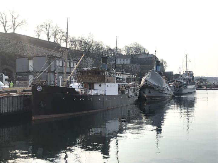 Bilde av fartøy ved Akershuskaia