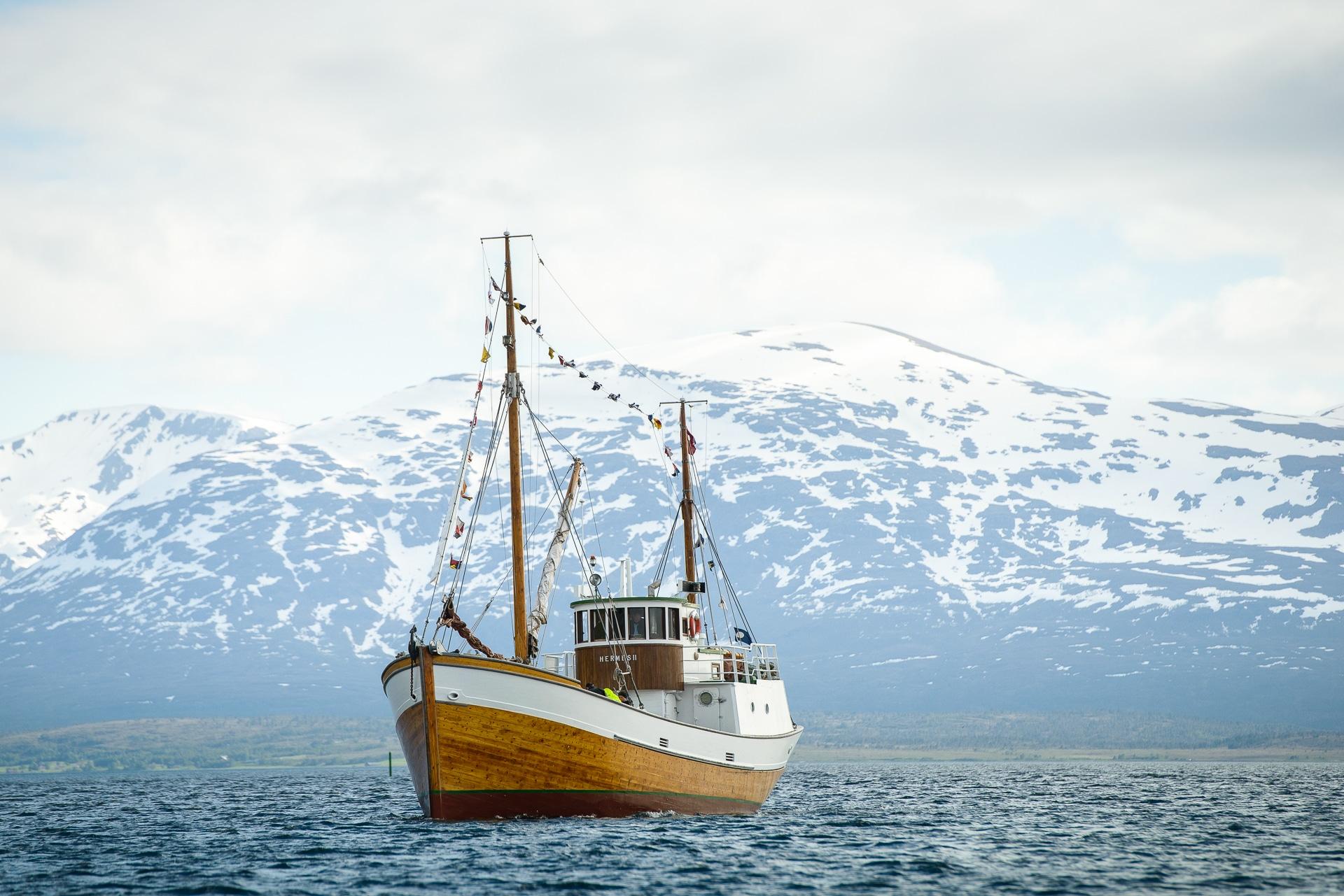 Bilde av fiskefartøyet HERMES 2