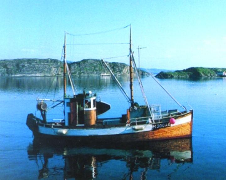 Bilde av fiskefartøyet SVANEN fra 1937